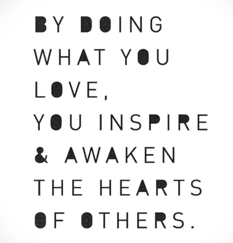 Diet sayings by doing what you love you inspire