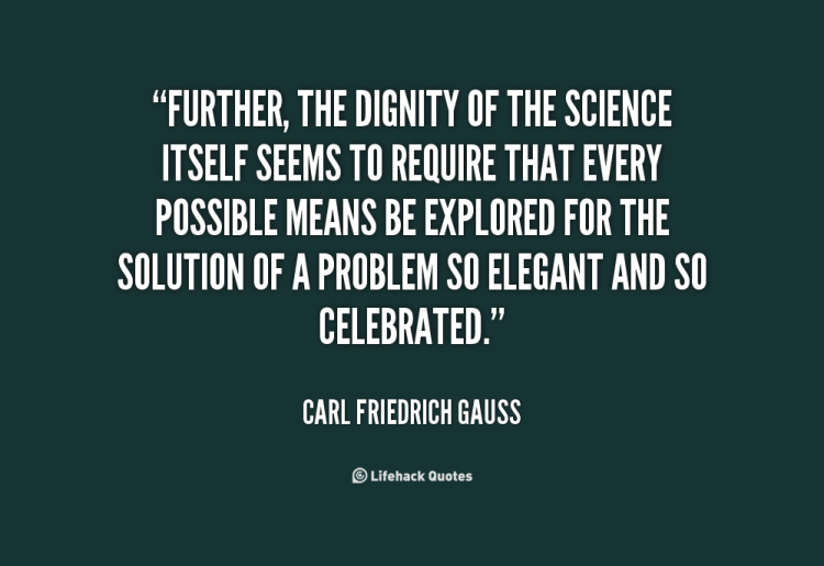 Dignity Quotes further the dignity of the science itself
