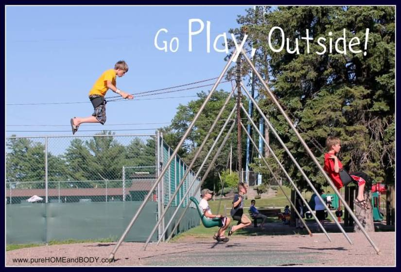 Earth Day Quotes go play outside