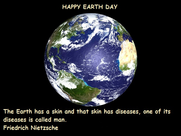 Earth Day Quotes happy earth day the earth has a skin and that skin has