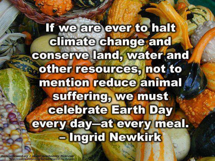 Earth Day Quotes if we are ever to halt climate change and conserve land water and