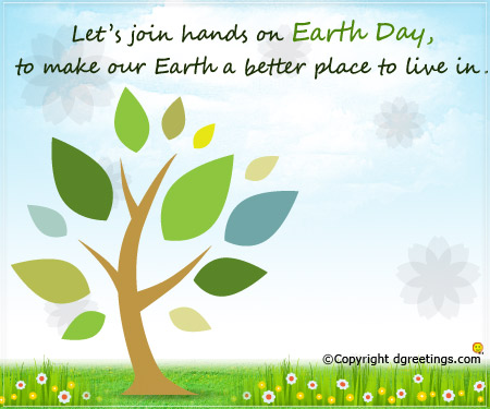 Earth Day Quotes let s join hands on earth day