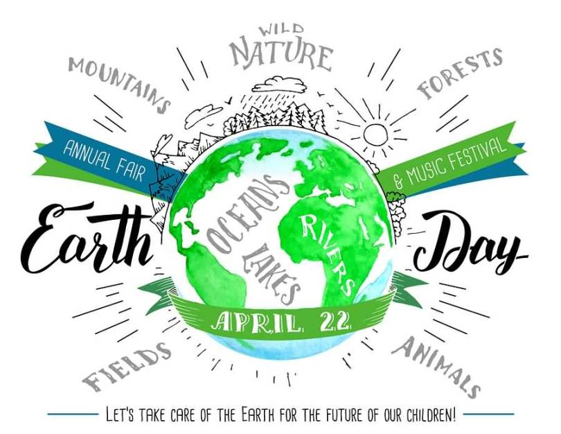 Earth Day Sayings mountains annual fair