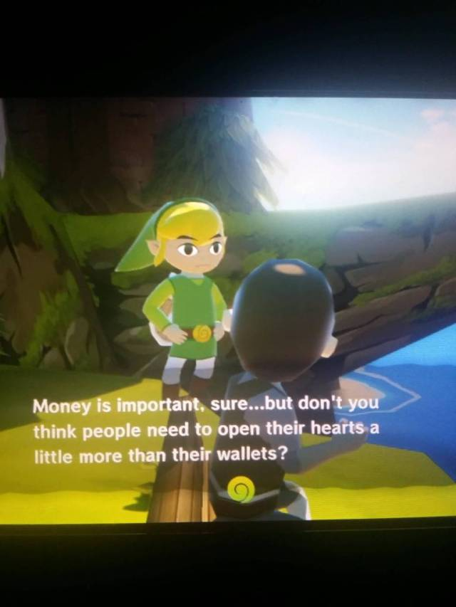 Games Quotes money is important sure but don't you think people need to open their hearts