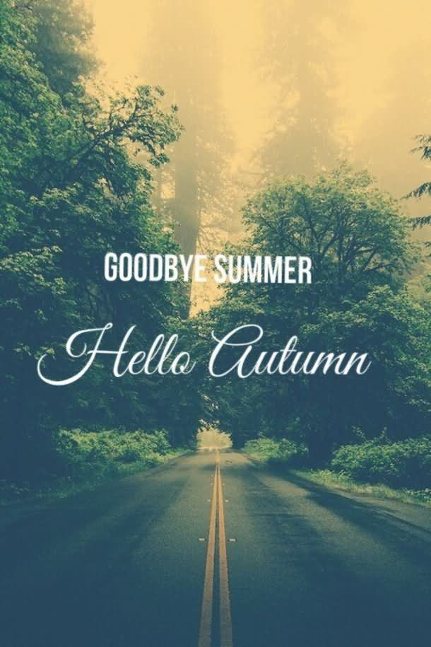Goodbye Summer Quotes goodbye summer hello autumn...