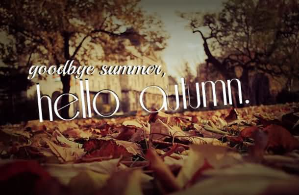 Goodbye Summer Quotes goodbye summer hello autumn..