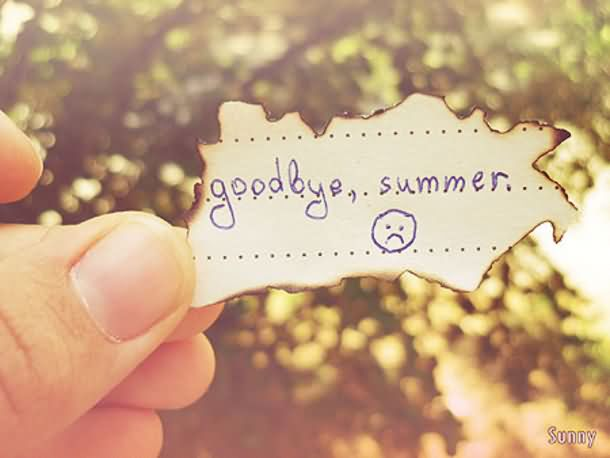Goodbye Summer Quotes goodbye summer.....
