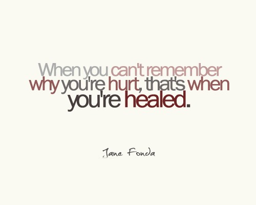 Healing Quotes when you can't remember