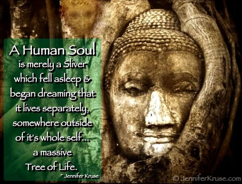 Healing Sayings a human soul is merely a sliver
