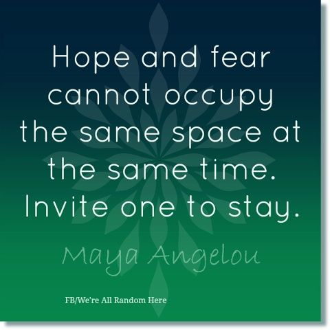 Hope Quotes hope and fear cannot occupy