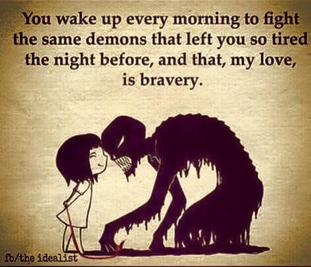 Hope Quotes you wake up every morning to fight the same