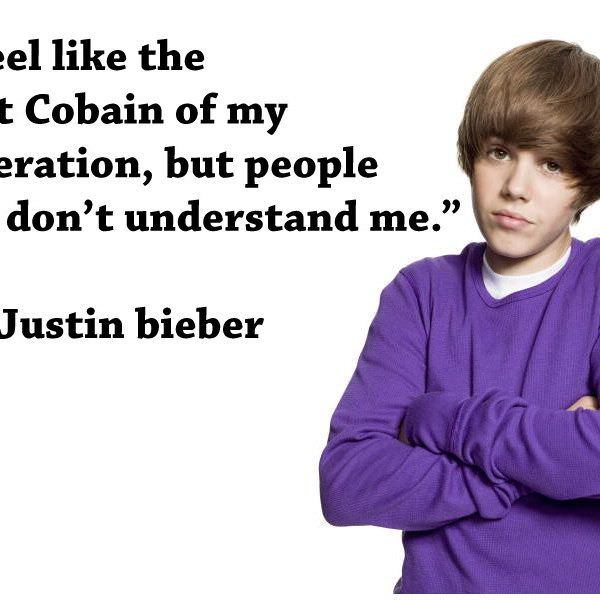 Justin Bieber Quotes like the at cobia of my