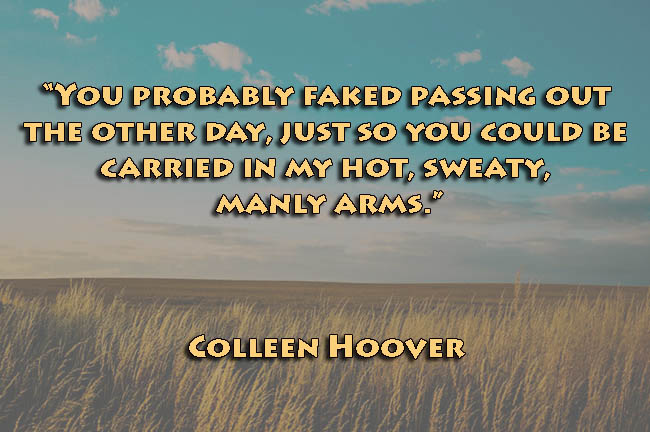 Misconception Sayings you probably faked passing out the other day