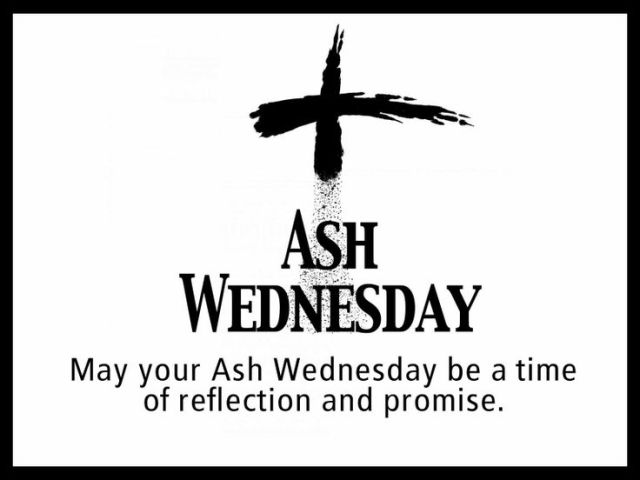 My Your Ash Wednesday Be A Time Of Reflection And Promise