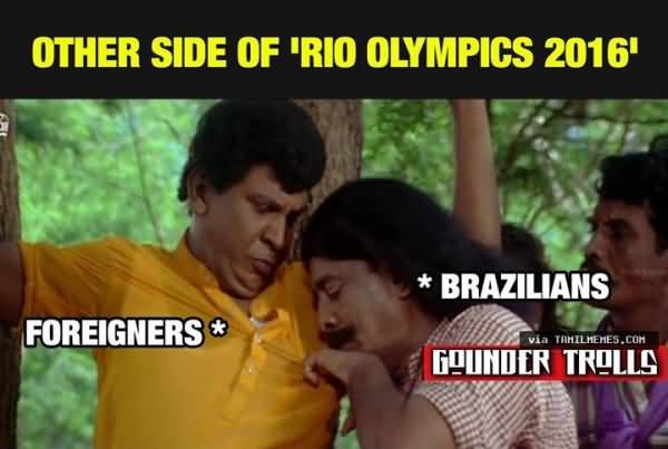 Other side of rio Olympics 2016Olympics Meme