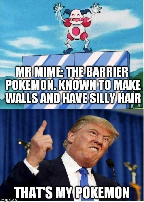 Pokemon Go Meme Mr Mime The Barrier Pokemon. Known To Make