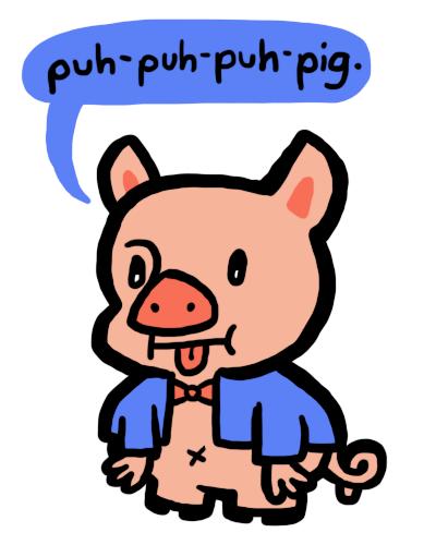 Porky Pig Quotes puh puh puh Pig