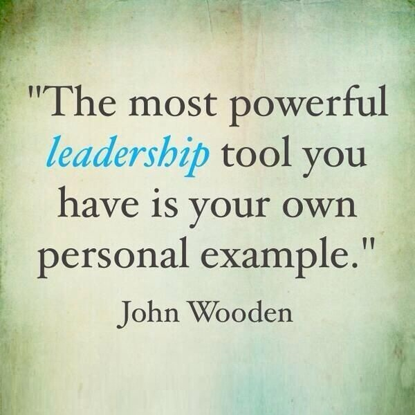 Position Sayings the most powerful leadership