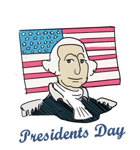 President's Day George Washington Images