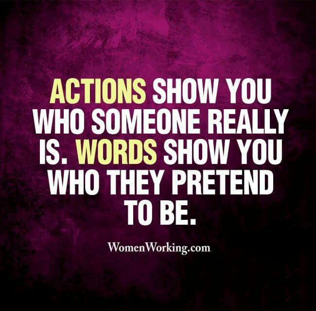 Pretending Quotes actions show you who someone really