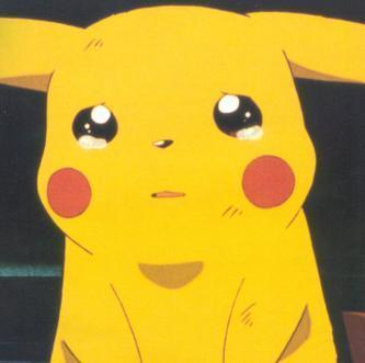 Sad Meme Pikachu