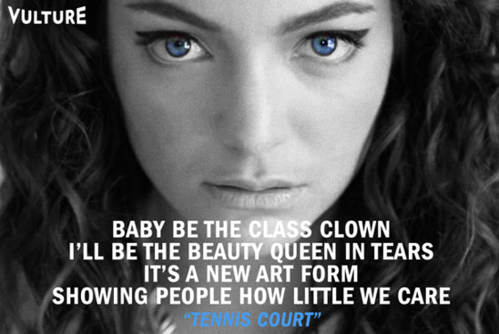 Singer Quotes baby be the class clown ill be the beauty queen in tears