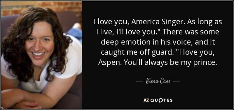 Singer Sayings i love America singer as long as i live