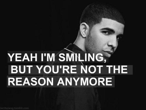 Singer Sayings yeah I'm smiling but