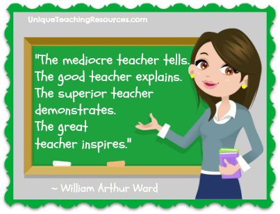 Teacher Quotes the mediocre teacher tells the good teacher explains the superior