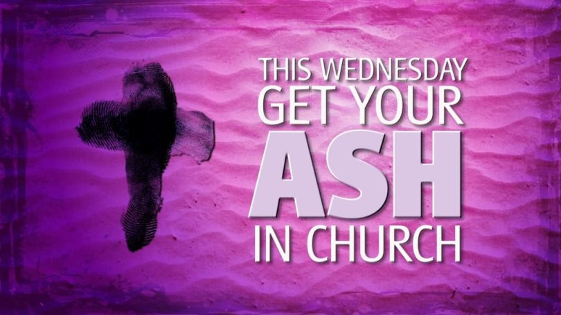 This Wednesday Ash In Church Ash Wednesday