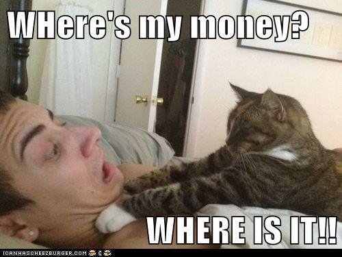 Where's my money where is it Money Meme