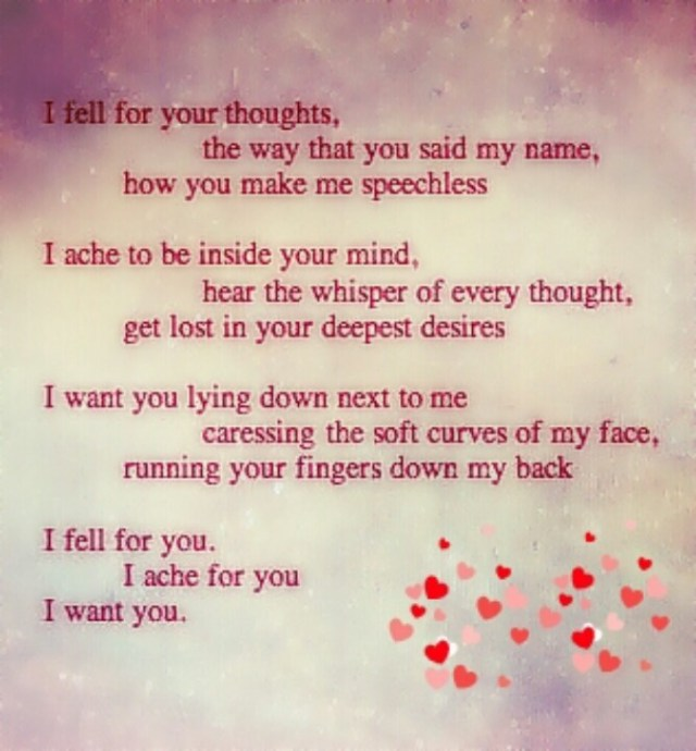You Have My Heart Quotes i fell your thoughts the way that you said my name how you make me speechless