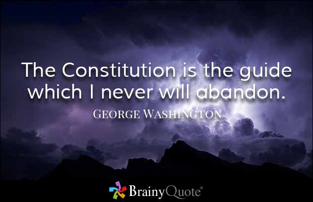 Abandoned Quotes the constitution is the guide which i never