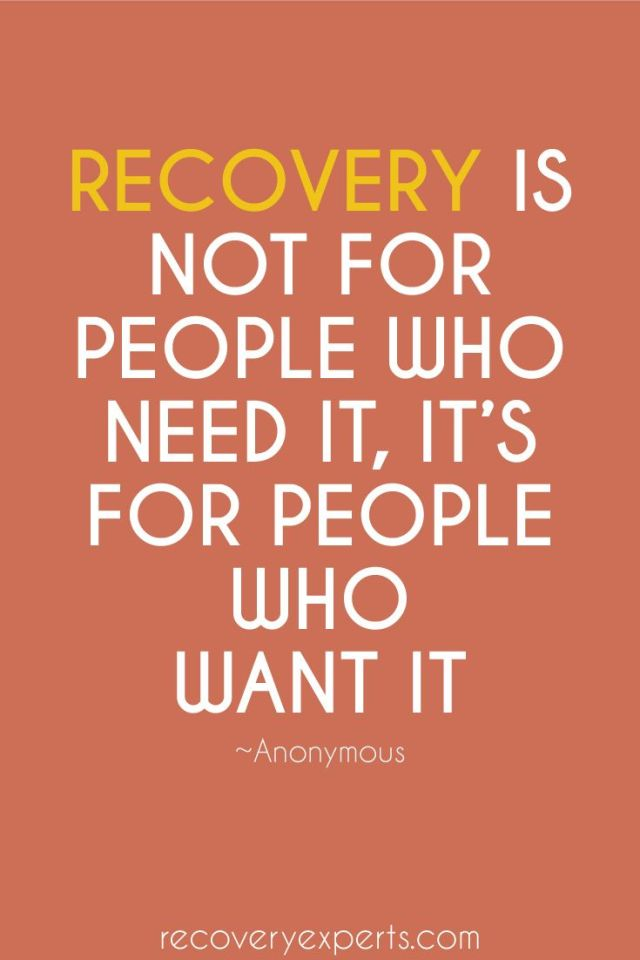 addiction Quotes recovery is not for people