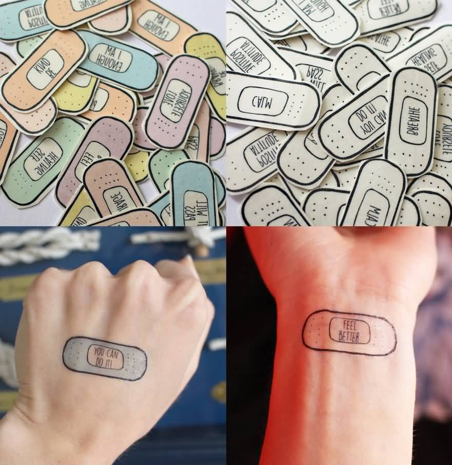 awesome anxiety tattoos ON Hand For Women