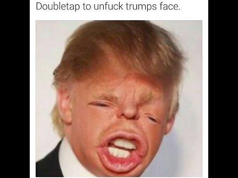 double tap to unfuck trumps face Dank meme