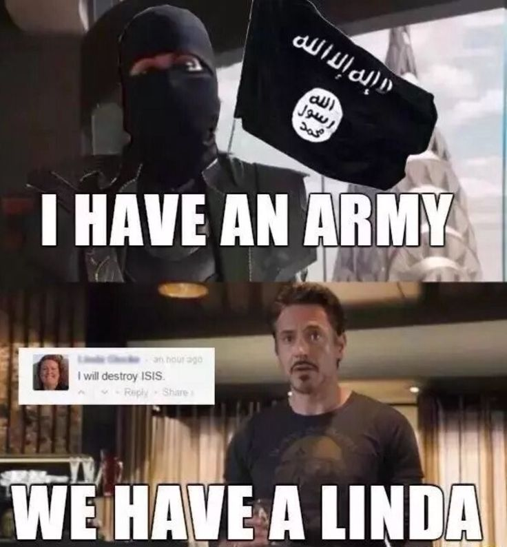 i have an army we have a Linda Dank meme