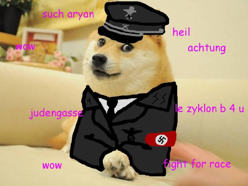 such Aryan wow heil achtung judengasse doge meme