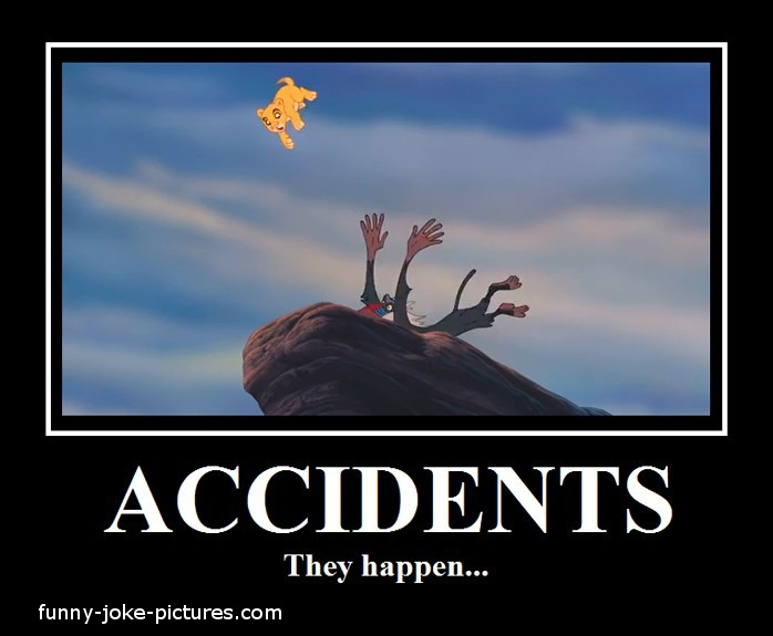 Accidents they happen Lion Memes