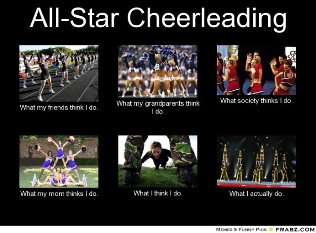 All star cheerleading Meme