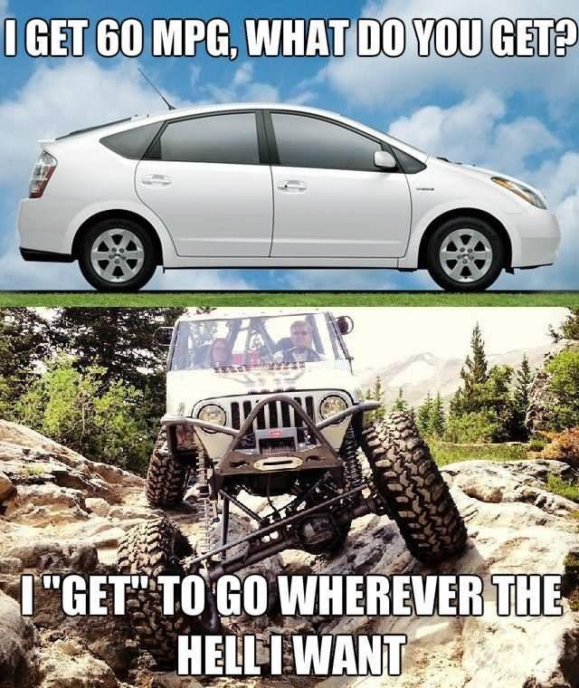 Car Memes I get 60 mpg what do you get