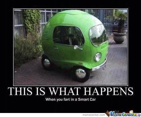 Car Memes This is what happens when you fart in a smart car