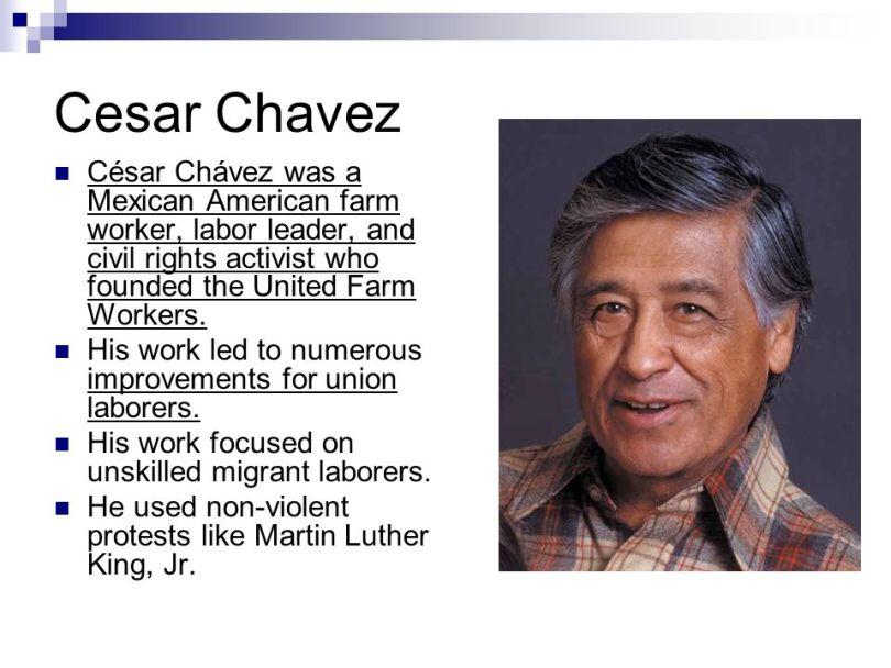 Cesar Chavez History 64