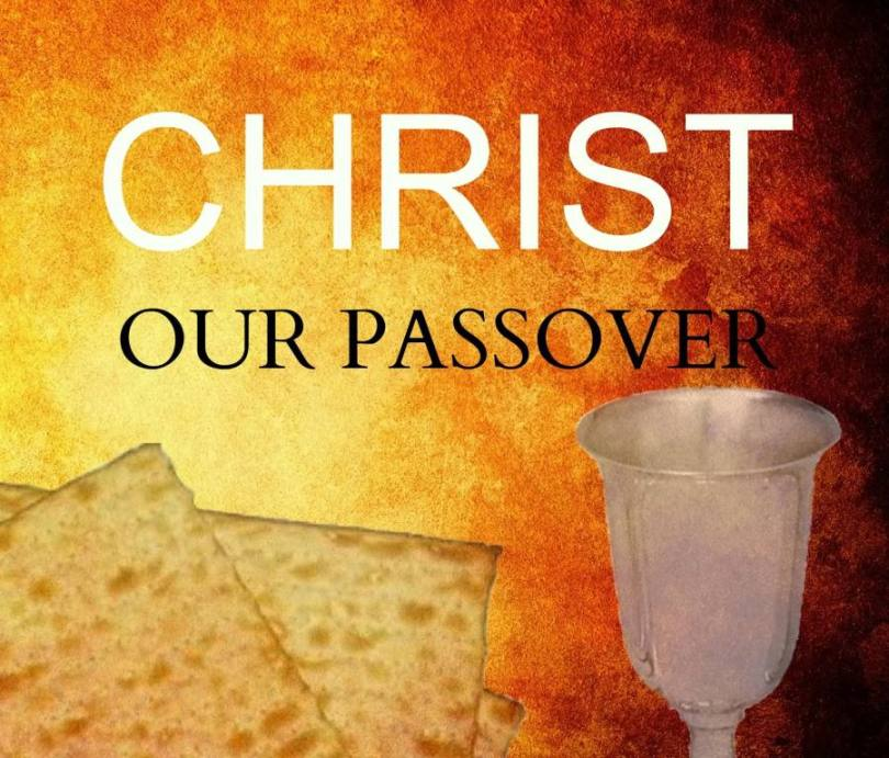 Christ Our Passover Wishes Image