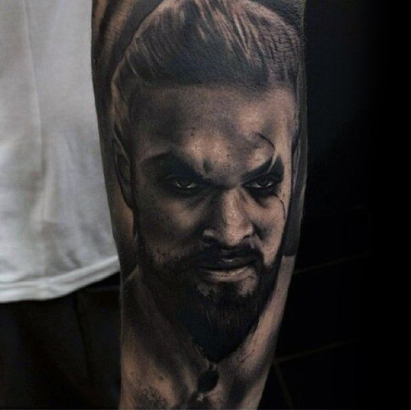 Coolest Game Of Thrones Tattoo On arm for tattoo fan