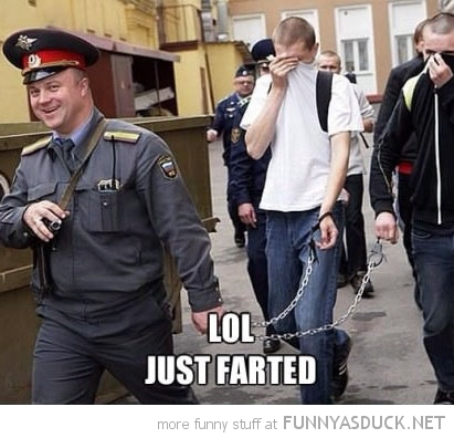 Cops Meme Lol just farted