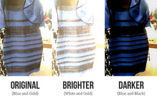 Dress Meme Original brighter darker