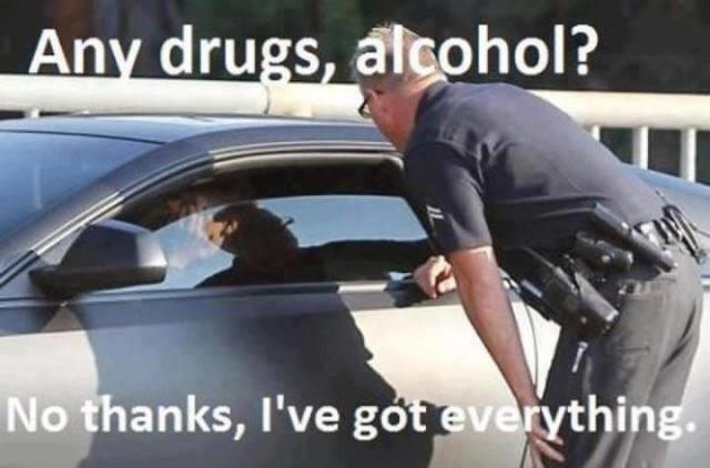 Drugs Meme any drugs alcohol no thanks ive