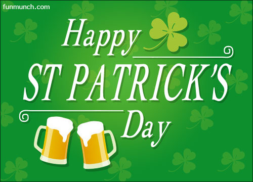 Enjoy The Day Happy St. Patrick's Day