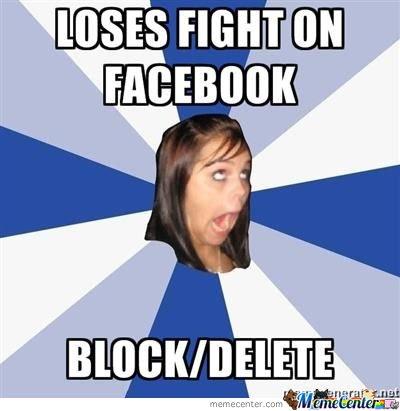 Facebook Meme Loses fight on facebook block